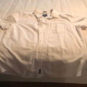 American Eagle XL short sleeve button down shirt